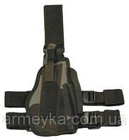 Пистолетная кабура  набедренная правосторонняя, CCE-camo, Германия MFH, фото 1