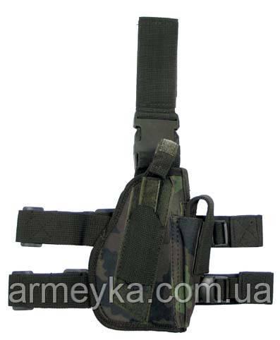 Пистолетная кабура  набедренная правосторонняя, M 95 CZ tarn, Германия MFH