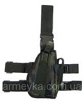 Пистолетная кабура  набедренная правосторонняя, M 95 CZ tarn, Германия MFH, фото 1