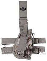 Пистолетная кабура  набедренная правосторонняя, vegetato desert, Германия MFH