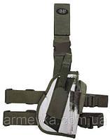 Пистолетная кабура  набедренная правосторонняя BW, зимняя клякса, Германия MFH