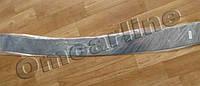 Накладка на задний бампер skoda octavia a5 (шкода октавия а5 (2011-….), с логотипом, без загиба. нерж