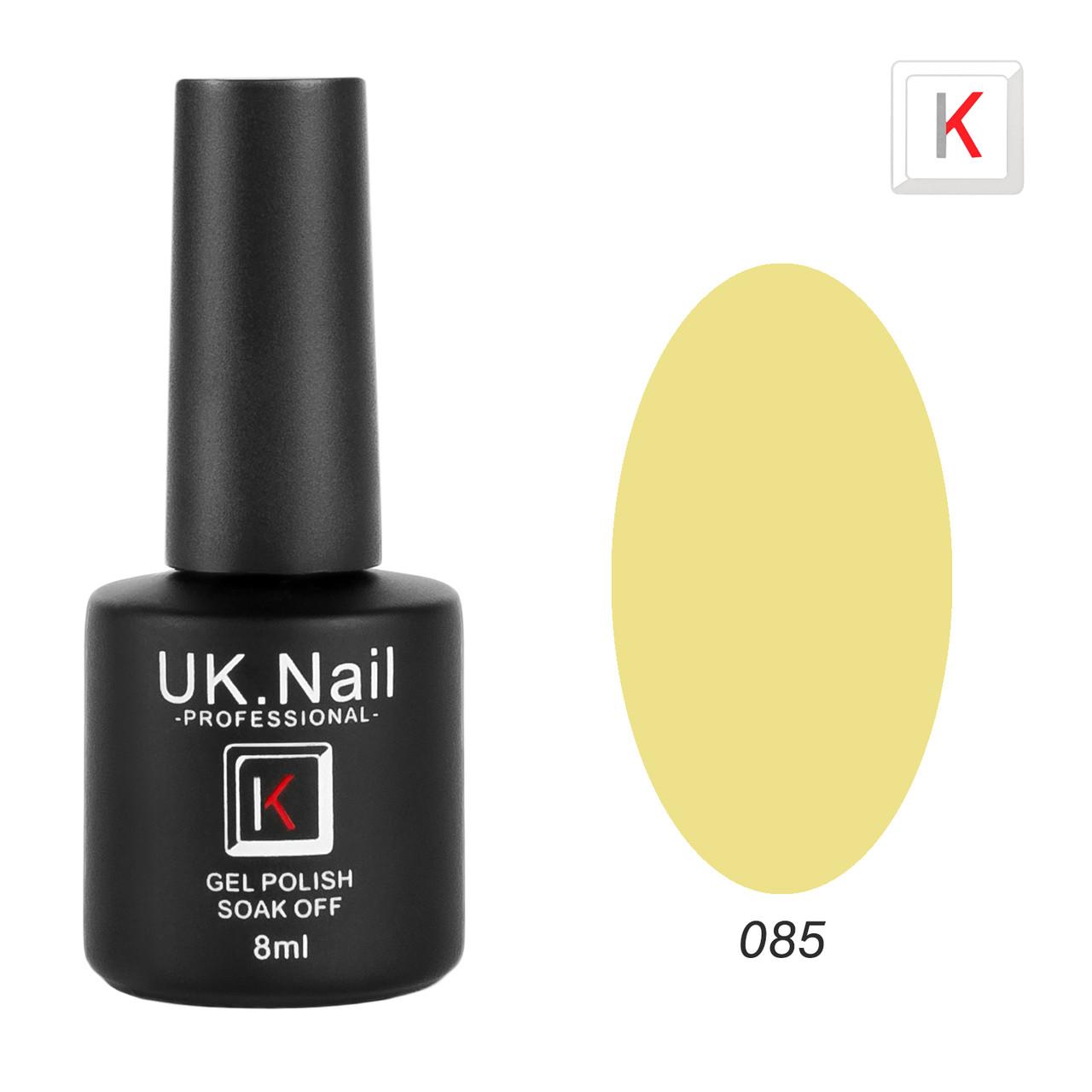 Гель-лаки UK.Nail 8мл №85
