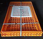 Ящик для перевозки птиц Mini Piedmont 770х570х290 мм двухдверный, фото 4