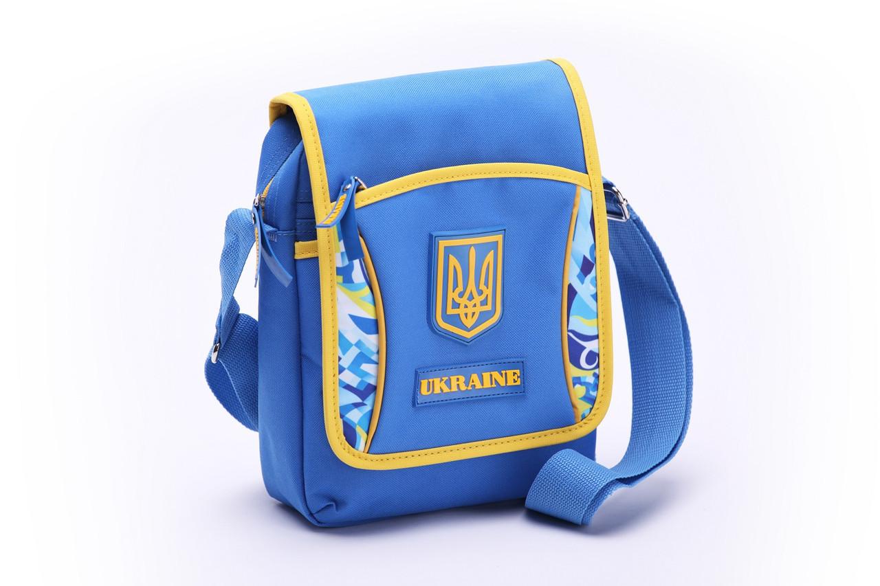 Барсетка С426  с символикой Украины