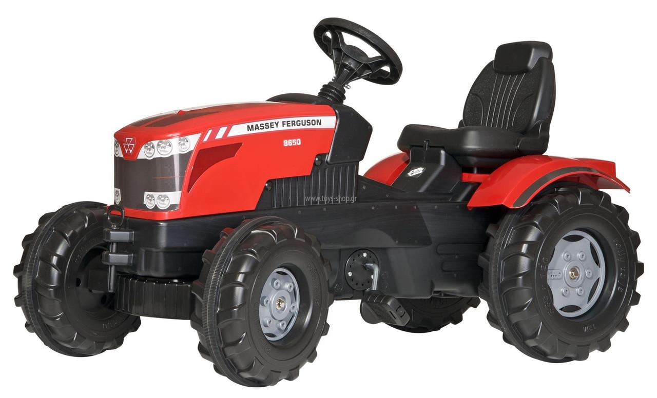 Трактор педальный Massey Ferguson Rolly Toys 601158