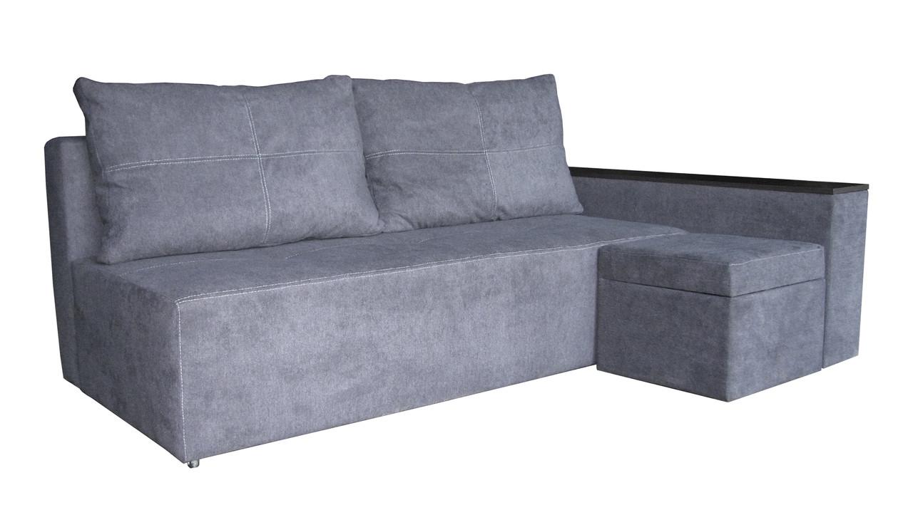 Угловой диван на пружинном блоке Ньюс