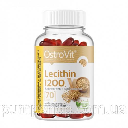 Лецитин Ostrovit Lecithin 1200 70 капс.