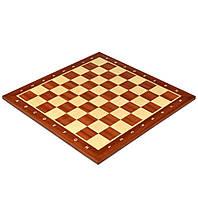 Шахматная доска 5, интарсия красное дерево