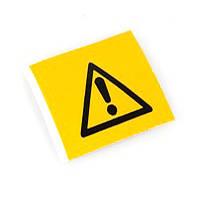 """Предупреждающий знак безопасности """"Опасность"""" PIC-308, 50 мм, 250 шт/рул, B-7541 (ламинированный полиэстер)"""