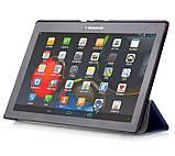 "Чехол для планшета Lenovo Tab 2 A10-30 10.1"" Slim - Dark Blue, фото 2"