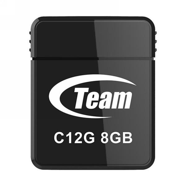 Team USB 2.0 C12-G 8 GB Black (TC12G8GB01)