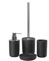 Набор аксессуаров для ванной комнаты MARBELLA BLACK