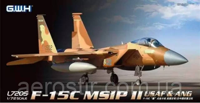F-15C Eagle MSIP II  1/72 Great Wall Hobby L7205