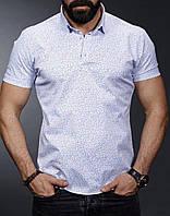 Светлая мужская рубашка , фото 1