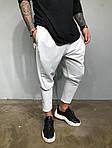 Мужские стильные брюки (белые), фото 2