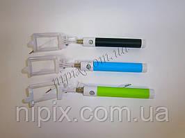 Монопод палка для селфи для смартфонов и iPhone с черной ручкой