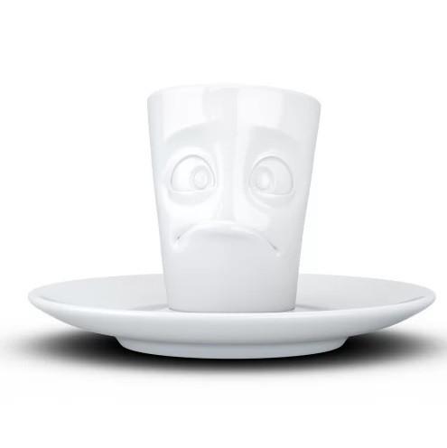 Espresso чашка с ручкой Tassen Buffled 80 мл фарфоровая