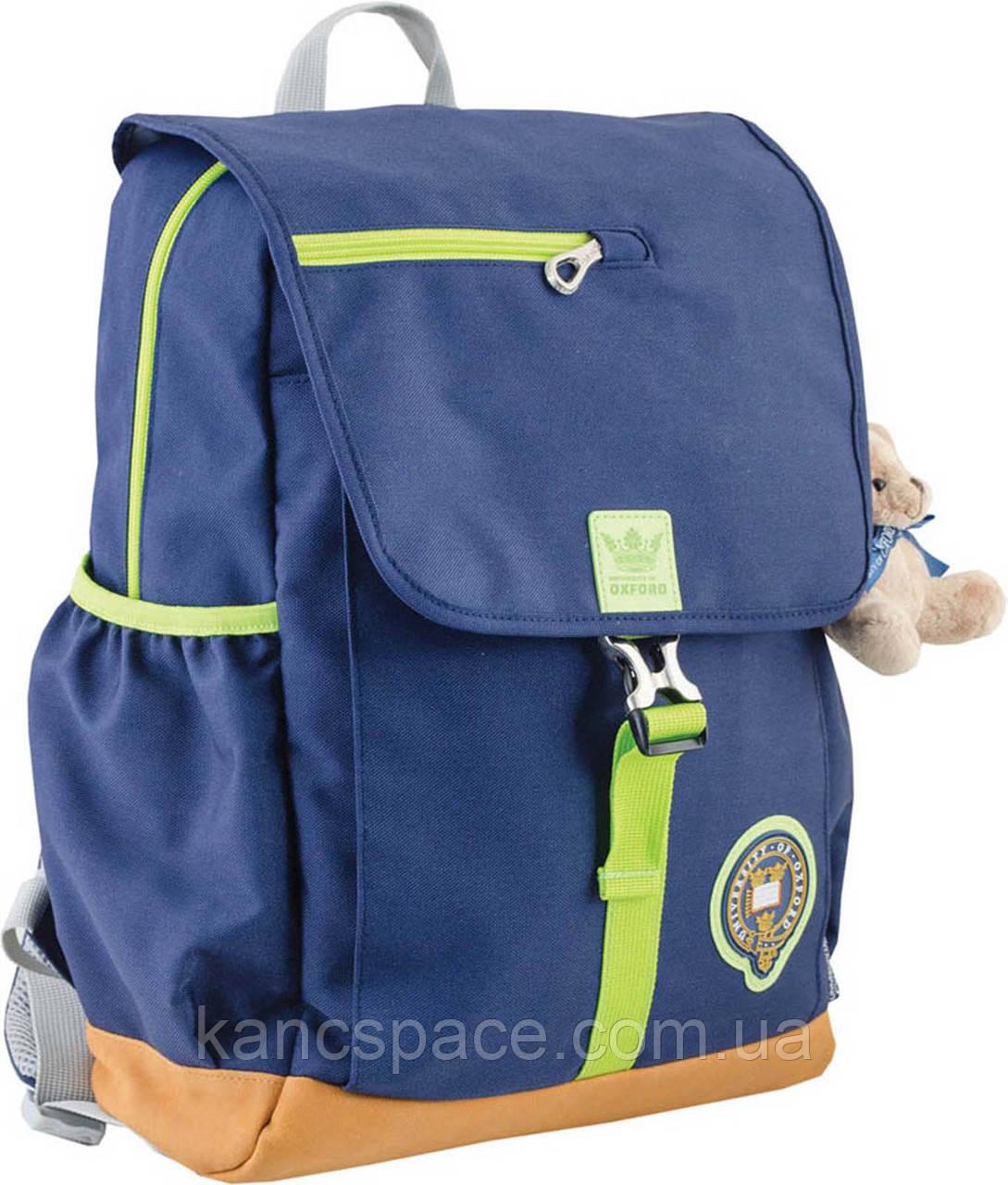 Рюкзак підлітковий OX 318, синiй, 26*35*13