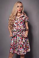 Стильное женское платье на лето