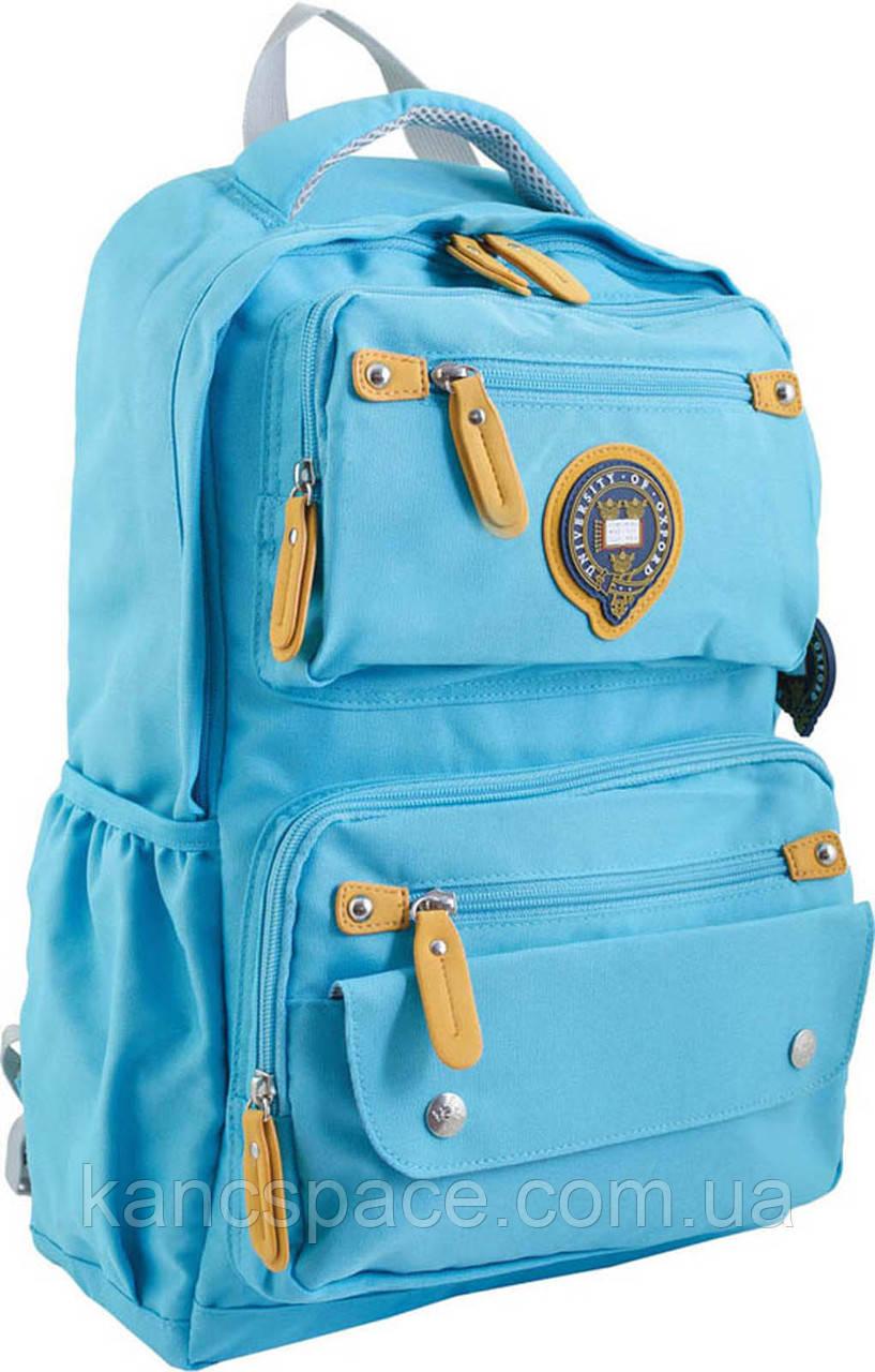 Рюкзак підлітковий OX 323, синій, 29*46*13