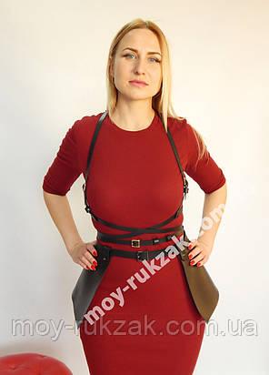 Комплект портупей: двойная обмотка на грудь и юбка баска арт.930818, фото 2