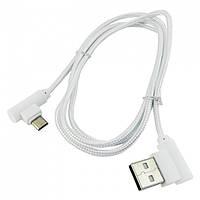 USB кабель Walker C540 microUSB white