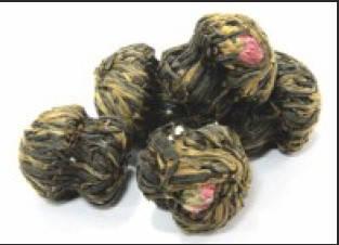 Черный связанный чай Весенний фестиваль (минимальная отгрузка 200 гр)