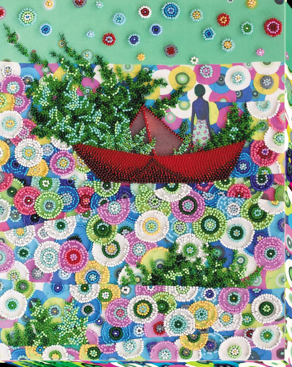 Наборы для вышивки бисером Весна идёт - весне дорогу! (25 х 31 см) Абрис Арт AB-682