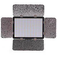 Свет накамерный и студийный со шторками Alitek LED-320AS (биколор)