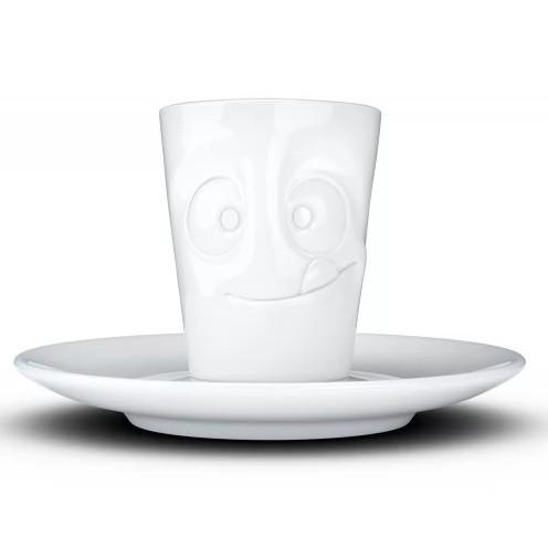 Espresso чашка с ручкой Tassen Tasty 80 мл фарфоровая