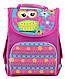 Рюкзак каркасний PG-11 Owl pink, 34*26*14                                                 , фото 5