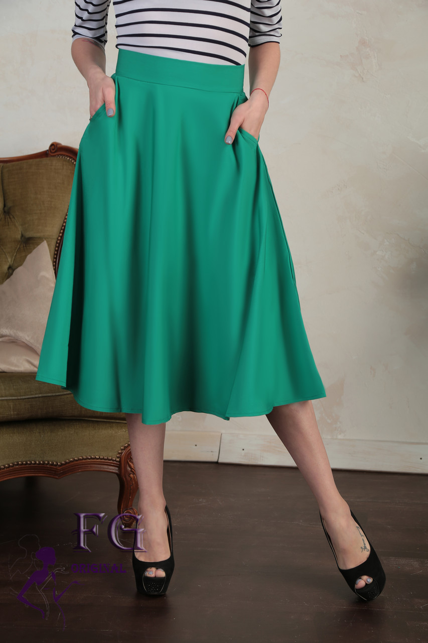 """Женская юбка с карманами """"Flora"""""""