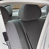 Авточехлы Renault Logan (sedan) 2013- (цельная) Nika, фото 5