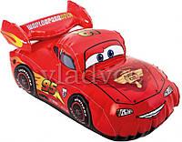 """Надувная игрушка машинка из м-ф """"тачки"""" Lightning Mcqueen Макуин intex 58599"""