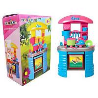 Детская игровая кухня с посудой «EVA» Kinderway 04-404