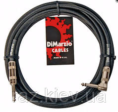 Гитарный кабель  DIMARZIO EP1710SR INSTRUMENT CABLE 10ft (BLACK)