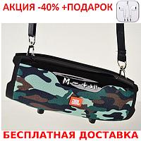 Портативная колонка JBL Сharge E14+ KAMUFLAGE с подставкой для телефона Bluetooth FM SD MP3 Original size+Науш