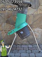 Веткоизмельчитель Атика - мощная универсальная дробилка садовая электрическая Atika Bioline 1300 (Гемания) б/у