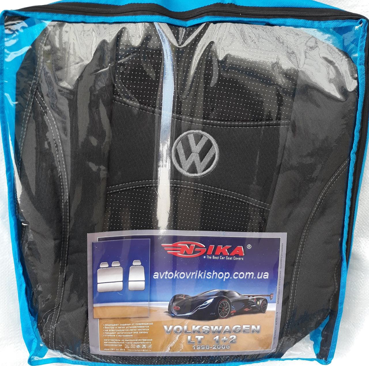 Авточехлы Volkswagen LT 1+2 1996-2006 Nika