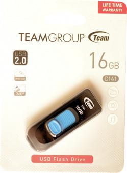 Team USB 2.0 C141 16GB Blue (TC14116GL01)