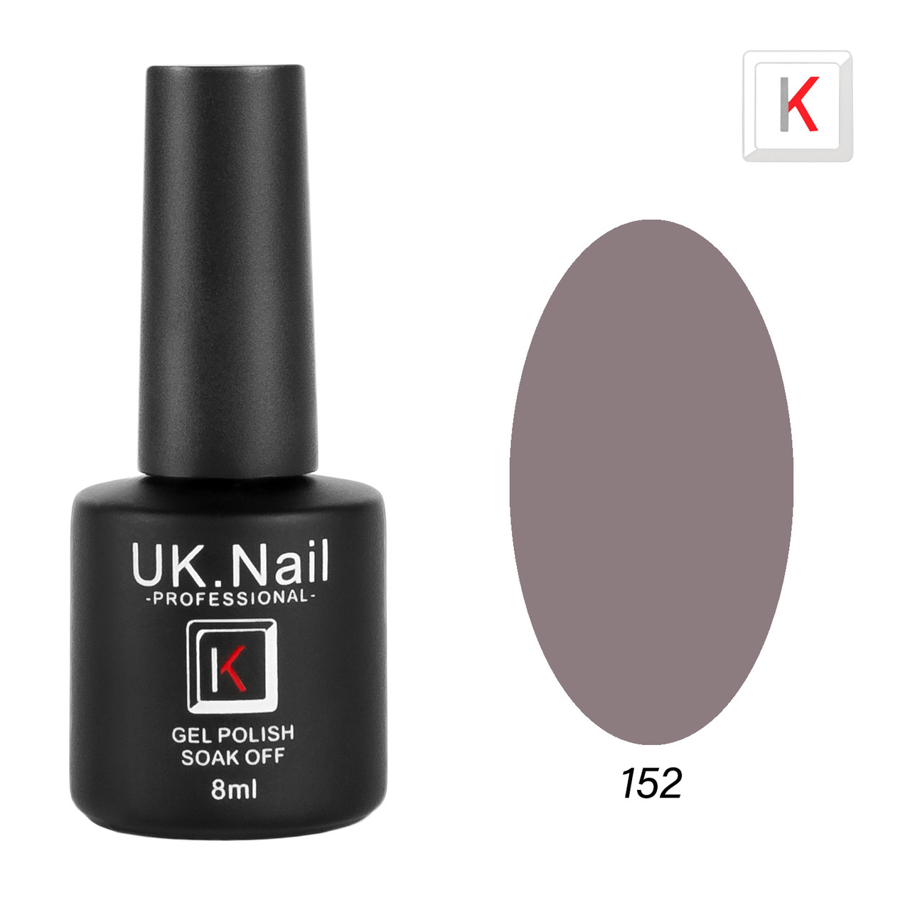 Гель-лаки UK.Nail 8мл №152