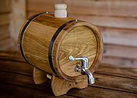 Жбан (бочка) дубовый для напитков 5 лтр.