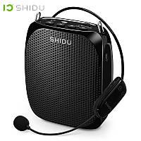 Усилитель голоса с беспроводным микрофоном SHIDU UHF 15W (USB/аккумулятор), фото 1
