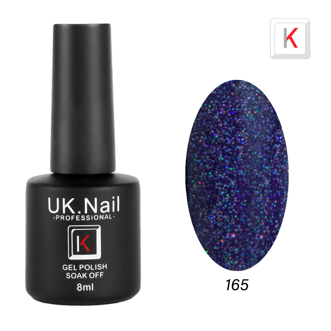 Гель-лаки UK.Nail 8мл №165