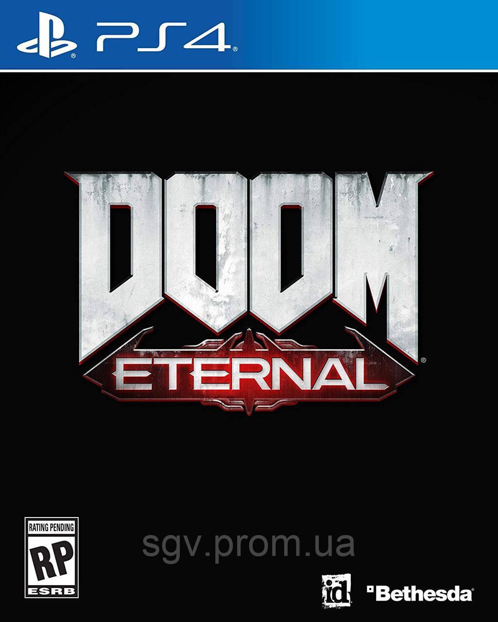 DOOM Eternal для PS4 (Blu-ray, Руская версия)
