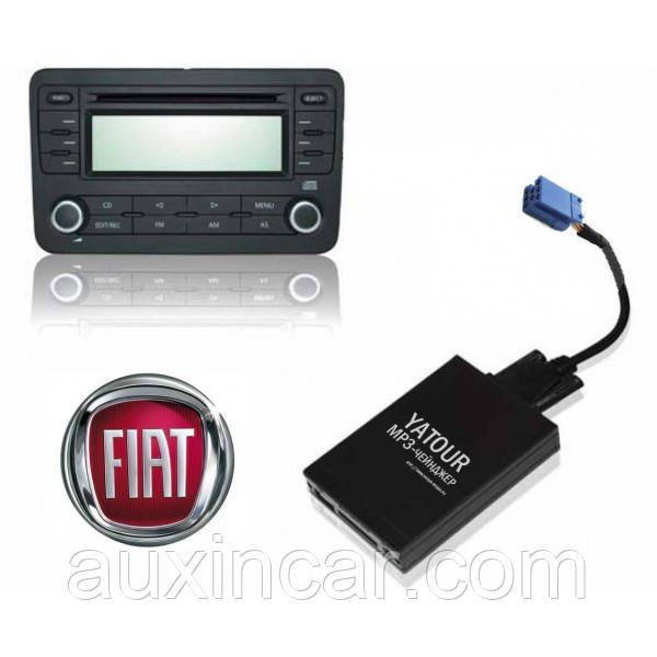 Флешка сд карта аукс адаптер ЯТУР Yatour для штатных магнитол Fiat