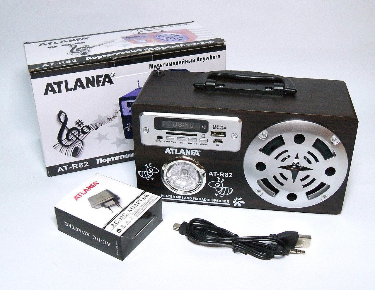 Портативная колонка ATLANFA AT-R82