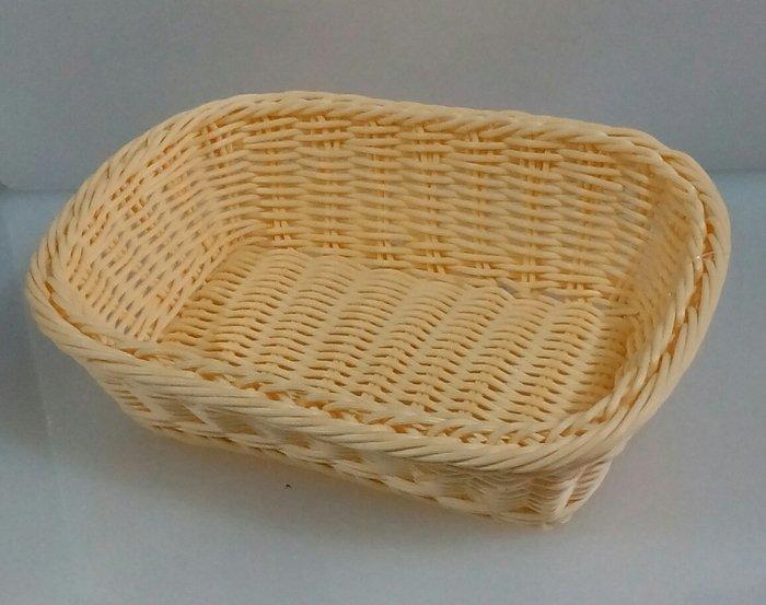 Кошик для хліба пластикова прямокутна 25*20 см