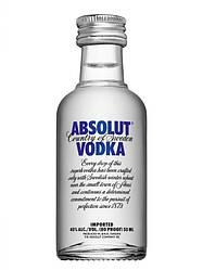 Горілка Absolut (Абсолют) 40%, 0,05 літра